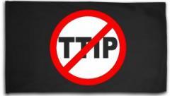 """Zur Fahne / Flagge (ca. 150x100cm) """"Stop TTIP"""" für 16,00 € gehen."""