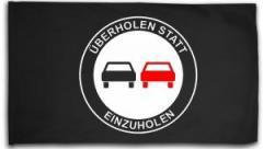 """Zur Fahne / Flagge (ca. 150x100cm) """"Überholen statt Einzuholen"""" für 16,00 € gehen."""