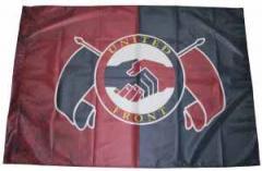 """Zur Fahne / Flagge (ca 150x100cm) """"United Front"""" für 13,00 € gehen."""