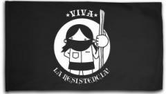 """Zur Fahne / Flagge (ca. 150x100cm) """"Viva la Resistencia!"""" für 15,60 € gehen."""