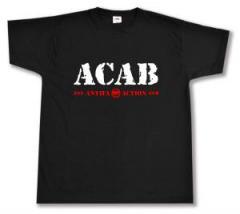 """Zum T-Shirt """"ACAB Antifa Action"""" für 12,00 € gehen."""
