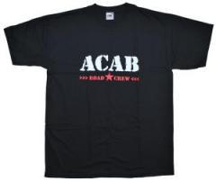 """Zum T-Shirt """"ACAB Roadcrew"""" für 12,67 € gehen."""