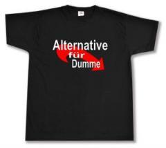 """Zum T-Shirt """"Alternative für Dumme"""" für 12,00 € gehen."""