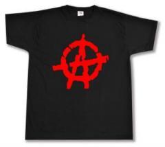 """Zum T-Shirt """"Anarchie (rot)"""" für 13,00 € gehen."""