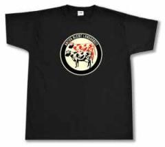 """Zum T-Shirt """"Antifa bleibt Landarbeit"""" für 16,00 € gehen."""