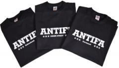 """Zum T-Shirt """"Antifa Deine Stadt"""" für 18,52 € gehen."""