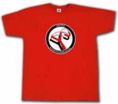 """Zum T-Shirt """"Antifa Kampfausbildung (rot)"""" für 14,62 € gehen."""