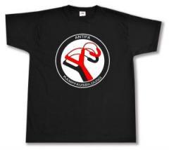 """Zum T-Shirt """"Antifa Kampfausbildung"""" für 15,00 € gehen."""