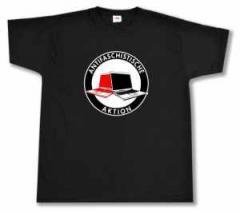 """Zum T-Shirt """"Antifaschistische Aktion (Notebooks)"""" für 14,00 € gehen."""