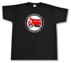"""Zum T-Shirt """"Antifaschistische Simsonfahrer"""" für 14,00 € gehen."""
