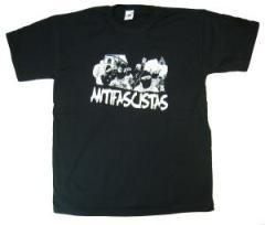 """Zum T-Shirt """"Antifascistas"""" für 13,00 € gehen."""
