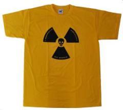 """Zum T-Shirt """"Atomkraft ist immer todsicher"""" für 12,00 € gehen."""