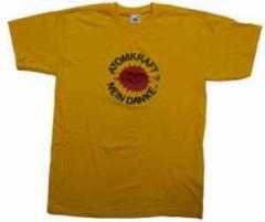 """Zum T-Shirt """"Atomkraft? Nein Danke"""" für 13,00 € gehen."""
