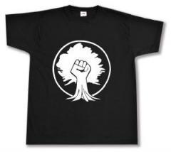 """Zum T-Shirt """"Baumfaust"""" für 13,00 € gehen."""