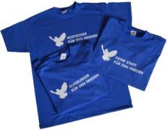 """Zum T-Shirt """"Deine Stadt für den Frieden"""" für 18,52 € gehen."""