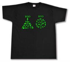 """Zum T-Shirt """"Ego - Eco"""" für 13,00 € gehen."""