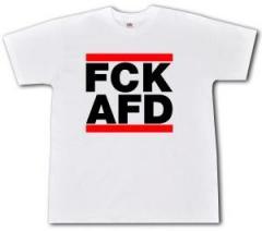 """Zum T-Shirt """"FCK AFD"""" für 13,00 € gehen."""