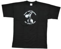 """Zum T-Shirt """"Feuer und Flamme für jeden Staat"""" für 13,00 € gehen."""