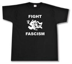 """Zum T-Shirt """"Fight Fascism"""" für 12,00 € gehen."""