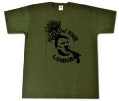 """Zum T-Shirt """"Follow your leader"""" für 13,00 € gehen."""