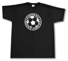 """Zum T-Shirt """"Football against racism"""" für 12,67 € gehen."""