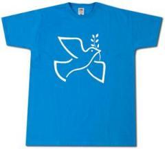"""Zum T-Shirt """"Friedenstaube mit Zweig"""" für 13,00 € gehen."""