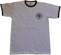"""Zum T-Shirt """"Hartz 4 - Arbeitslos und Spass dabei - Brigade"""" für 18,00 € gehen."""