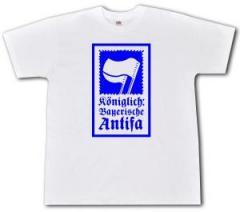 """Zum T-Shirt """"Königlich Bayerische Antifa"""" für 15,00 € gehen."""