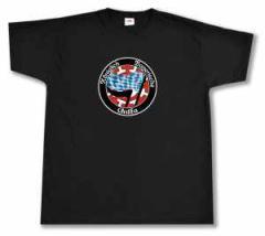 """Zum T-Shirt """"Königlich Bayerische Antifa Mühldorf"""" für 18,00 € gehen."""