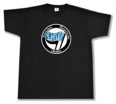 """Zum T-Shirt """"Königlich Bayerische Antifa"""" für 16,00 € gehen."""