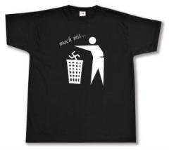 """Zum T-Shirt """"Mach mit ..."""" für 12,00 € gehen."""