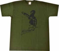 """Zum T-Shirt """"Militant"""" für 13,65 € gehen."""