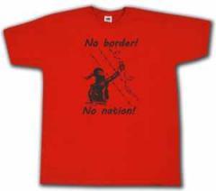 """Zum T-Shirt """"No Border! No Nation! (w)"""" für 13,65 € gehen."""
