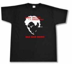 """Zum T-Shirt """"Oury Jalloh - 7. Januar 2005"""" für 13,00 € gehen."""