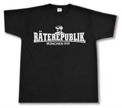 """Zum T-Shirt """"Räterepublik München 1919"""" für 14,00 € gehen."""