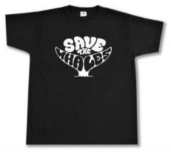 """Zum T-Shirt """"Save the Whales"""" für 13,00 € gehen."""