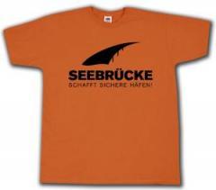 """Zum T-Shirt """"Seebrücke (schwarz)"""" für 13,00 € gehen."""