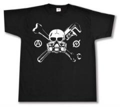 """Zum T-Shirt """"Skull - Gasmask"""" für 12,00 € gehen."""