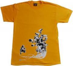 """Zum T-Shirt """"Stop Control gold"""" für 12,00 € gehen."""