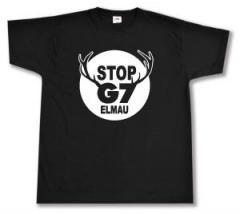 """Zum T-Shirt """"Stop G7 Elmau"""" für 12,67 € gehen."""