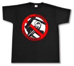 """Zum T-Shirt """"Stoppt Polizeigewalt"""" für 12,67 € gehen."""