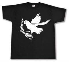 """Zum T-Shirt """"Taube mit Molli"""" für 12,67 € gehen."""