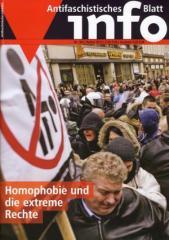 """Zur Zeitschrift """"Antifaschistisches Infoblatt Nr. 100"""" für 3,50 € gehen."""