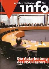 """Zur Zeitschrift """"Antifaschistisches Infoblatt Nr. 101"""" für 3,50 € gehen."""