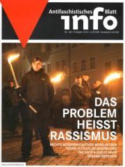 """Zur Zeitschrift """"Antifaschistisches Infoblatt Nr. 102"""" für 3,50 € gehen."""