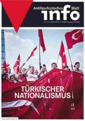 """Zur Zeitschrift """"Antifaschistisches Infoblatt Nr. 112"""" für 3,50 € gehen."""