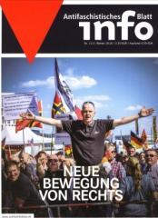 """Zur Zeitschrift """"Antifaschistisches Infoblatt Nr. 113"""" für 3,50 € gehen."""