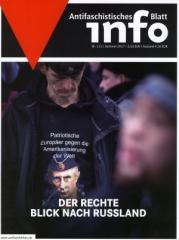 """Zur Zeitschrift """"Antifaschistisches Infoblatt Nr. 115"""" für 3,50 € gehen."""