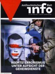 """Zur Zeitschrift """"Antifaschistisches Infoblatt Nr. 116"""" für 3,50 € gehen."""