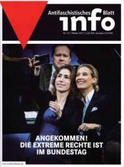 """Zur Zeitschrift """"Antifaschistisches Infoblatt Nr. 117"""" von Antifaschistisches Infoblatt für 6,00 € gehen."""